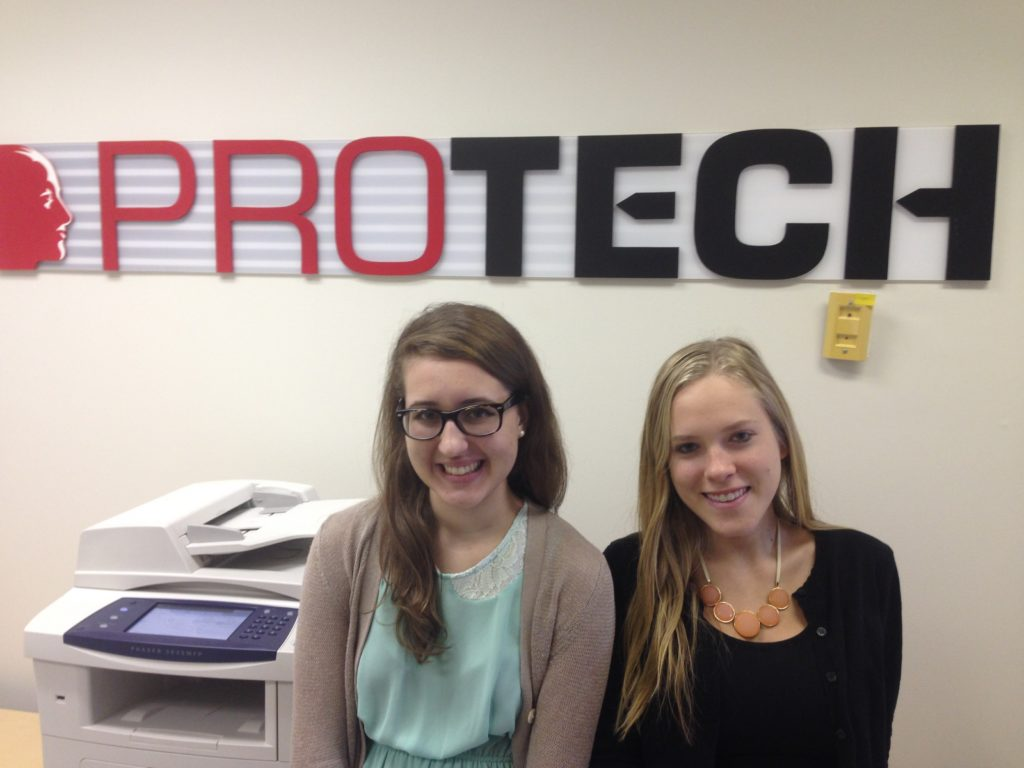 marketing intern, PROTECH Interns Learn Marketing, IT Strategies over Summer Break, PROTECH
