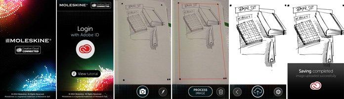 moleskine, Moleskine Lets You Turn Doodles into Vector Files, PROTECH