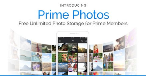 Amazon Announces Free, Unlimited Photo Storage for Prime Members