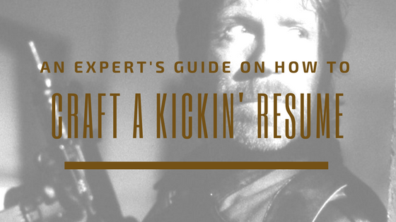 chuck norris craft a kickin resume