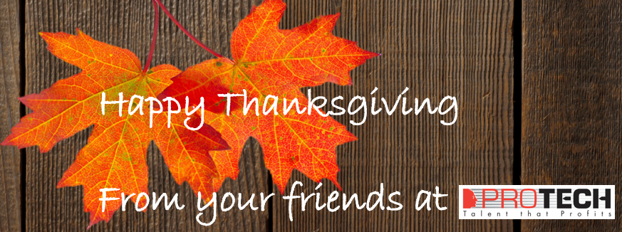 What We're Thankful For At PROTECH