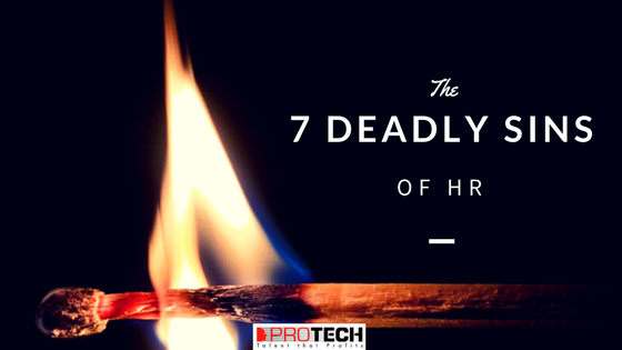 Seven Deadly Sins of HR