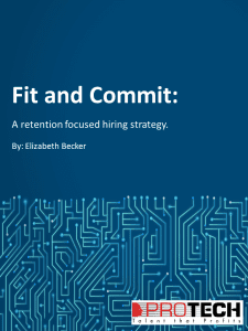 Fit and Commit Whitepaper Cover