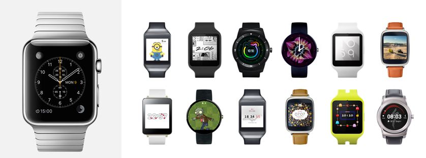 Smartwatch Wars: Android Wear vs. Apple Watch