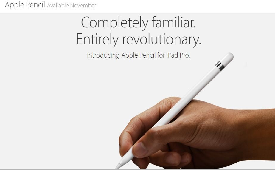 Introducing the $99 (Apple) Pencil