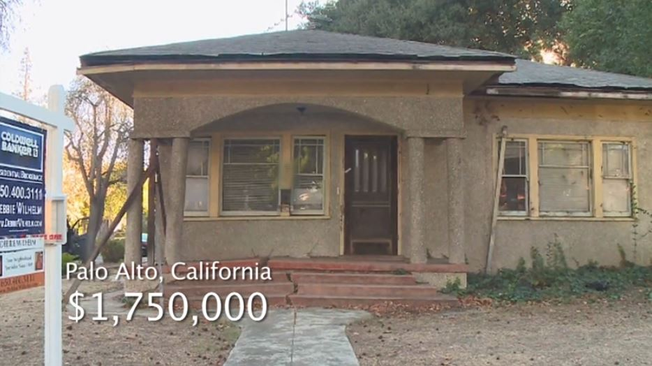 The Million Dollar Shack and Silicon Valley's Housing Crisis