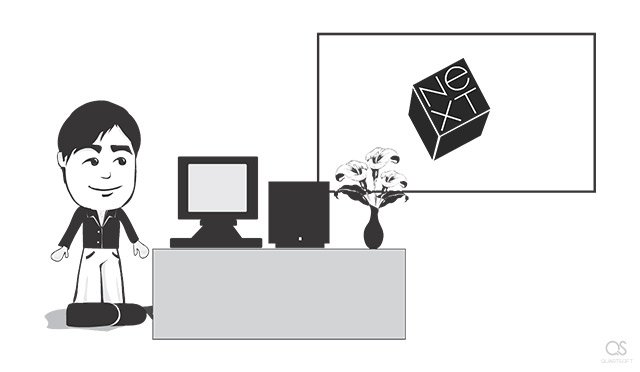 Best moments of Steve Jobs's life: Steve unveils the NeXTcube computer (1988)
