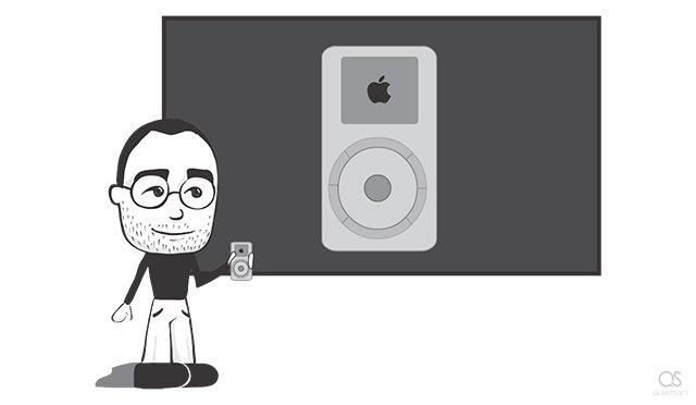 Best moments of Steve Jobs's life: iPod presentation (2001)
