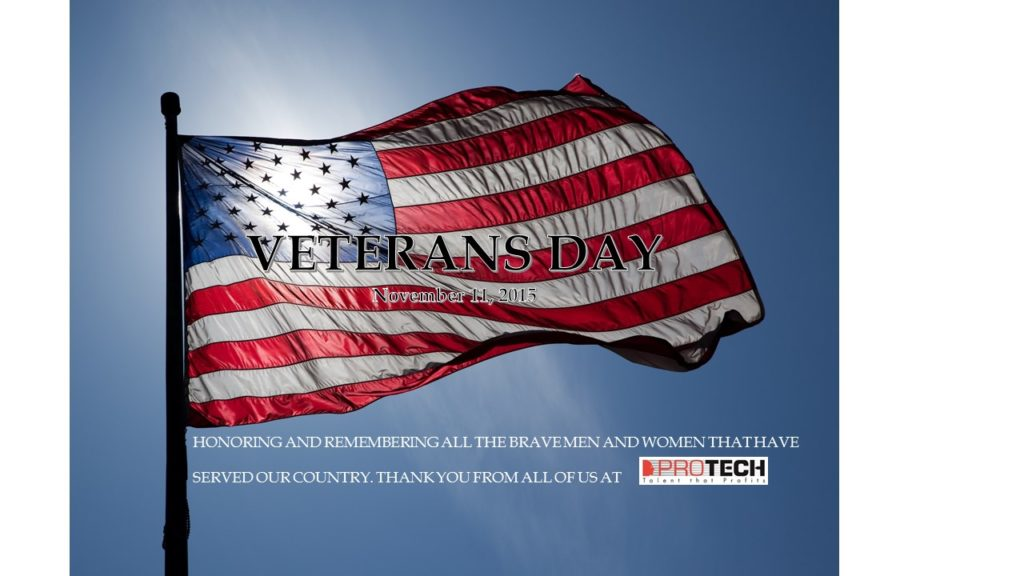 Veterans Day, Happy Veterans Day, PROTECH