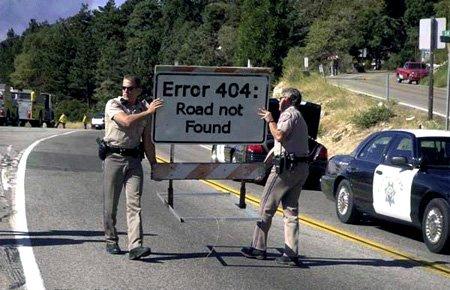 error-404-road-not-found