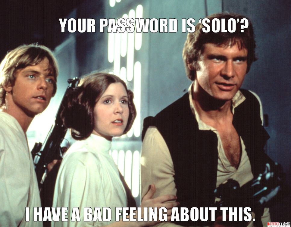 worst password, 'Starwars' and the other 24 worst passwords of 2015, PROTECH