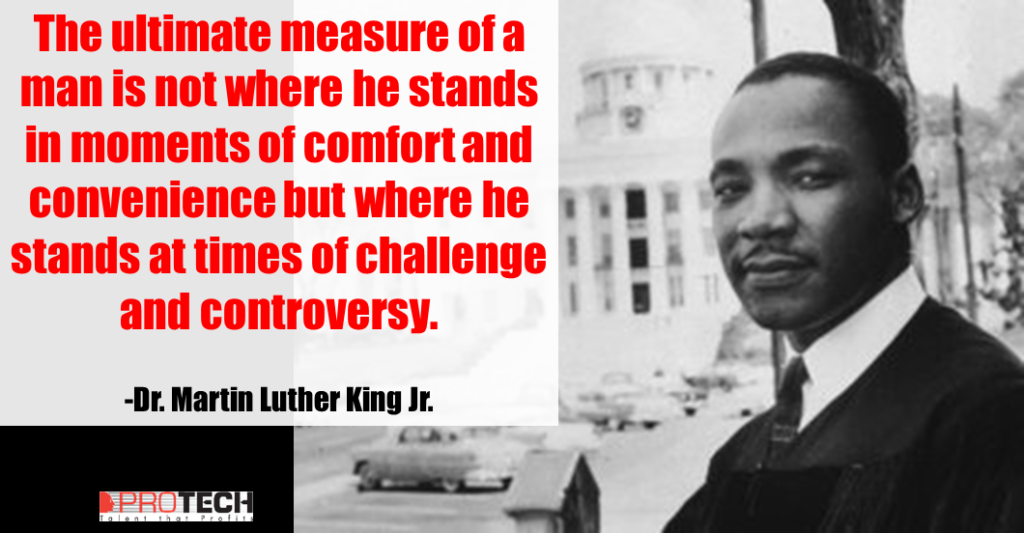 9 Powerful Martin Luther King, Jr. Quotes - PROTECH