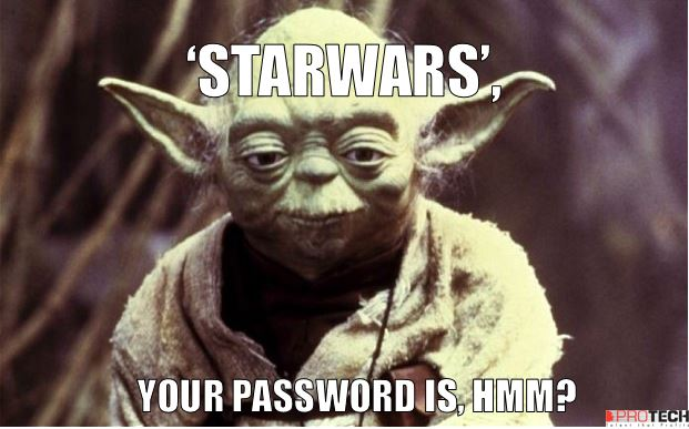 'Starwars' and the other 24 worst passwords of 2015