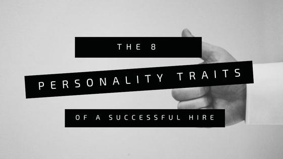 8 Personality Traits