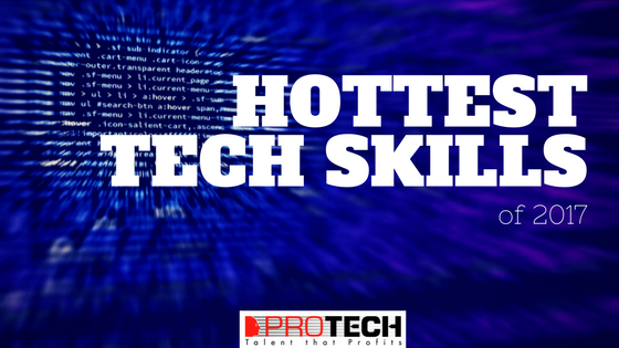 10 Hottest Tech Skills for 2017