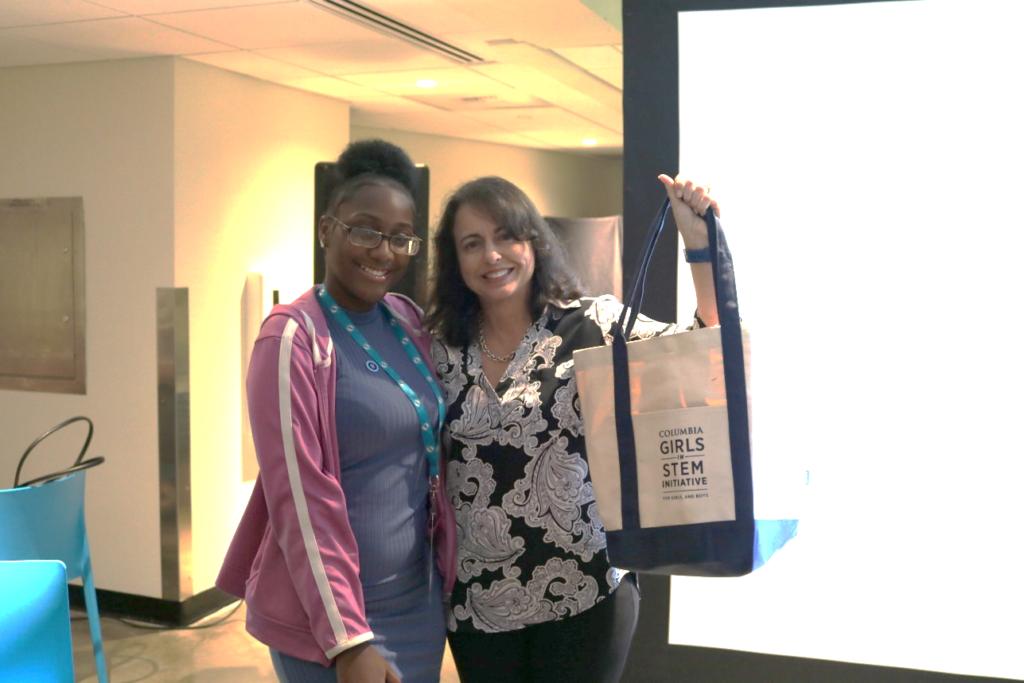 columbia girls in stem initiative, PROTECH CEO, Deborah Vazquez, Shares Career Advice with Columbia Girls in STEM Participants, PROTECH
